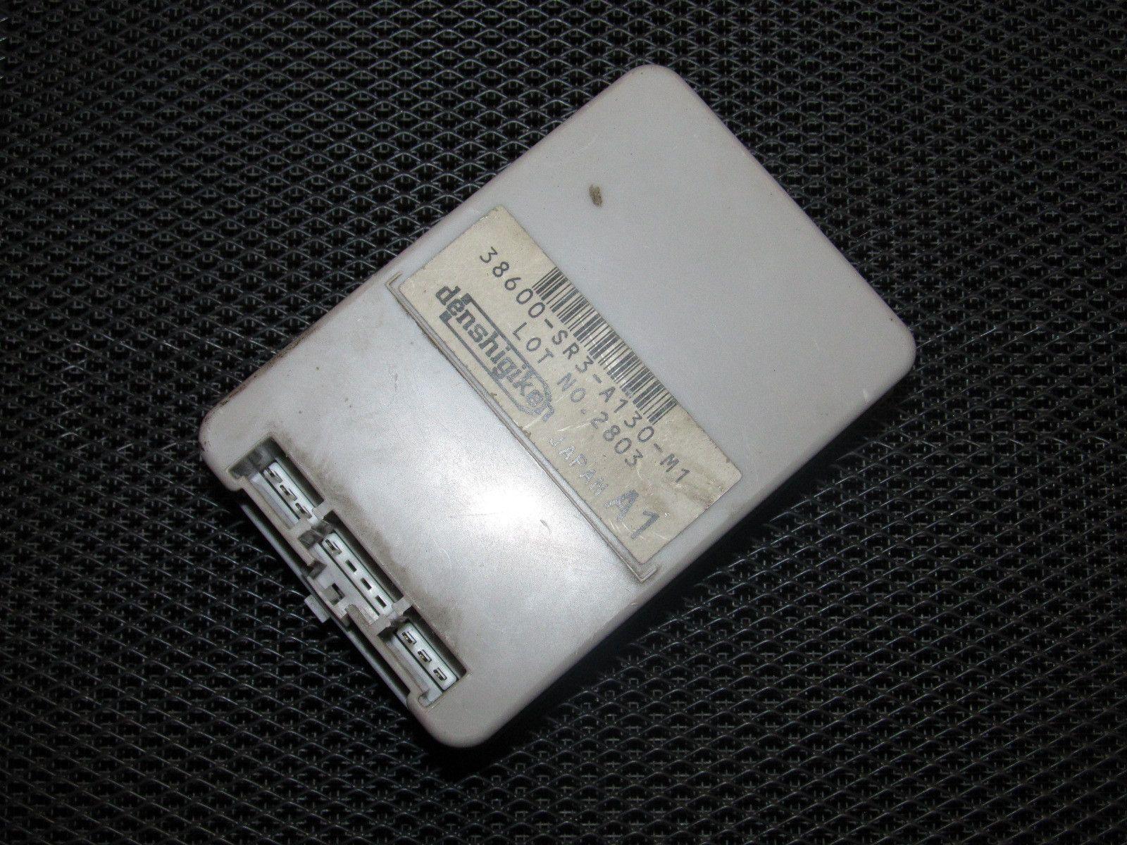 hight resolution of 93 97 honda del sol fuse box integration unit 38600 sr3 a130