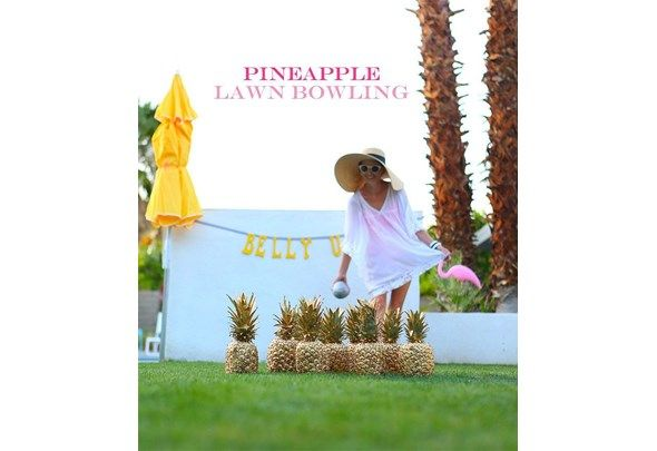 From A Watermelon Keg To Pineapple Lawn Bowling And Even Life Size Scrabble