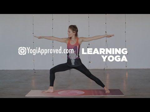 warrior ii pose  learning yoga  youtube  yoga poses for