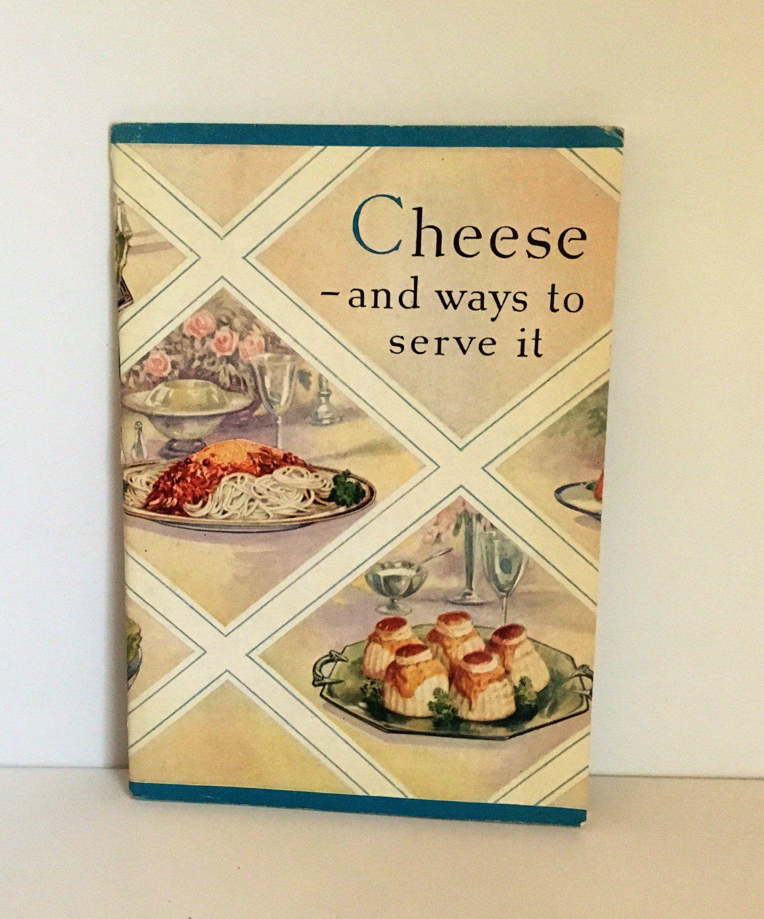 Petit Buffet Art Deco vintage kraft cheese cookbook, recipe binder, advertising