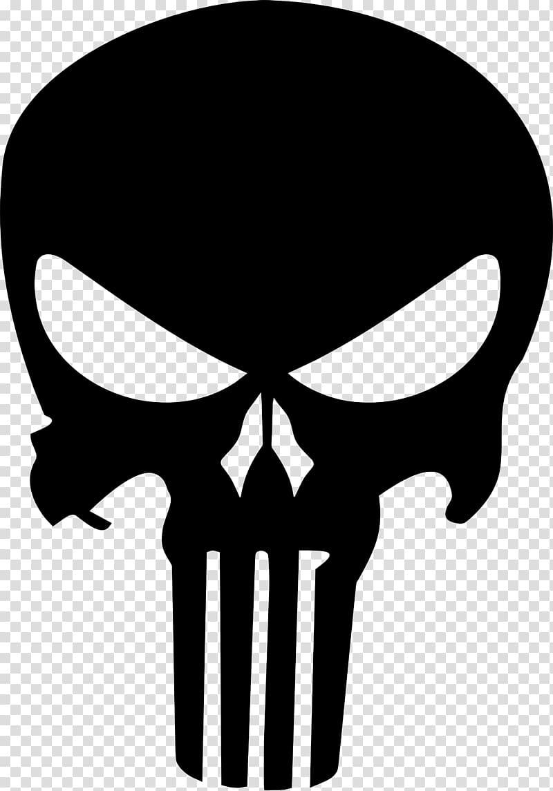 Punisher Car Decal Skulls Transparent Background Png Clipart Skull Silhouette Punisher Punisher Skull Logo