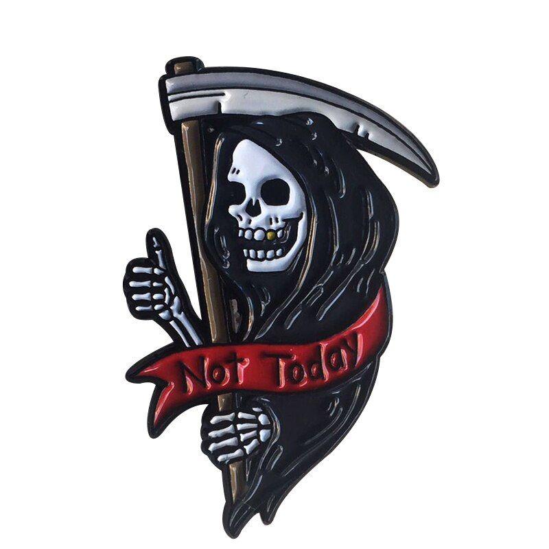 #Dark #Grim #Reaper #Pin