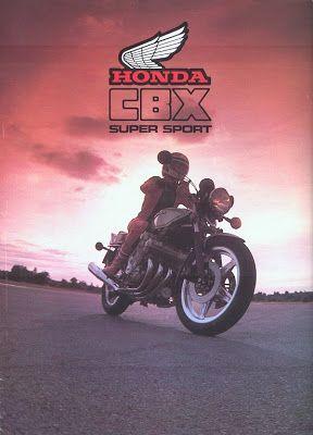 Racing Cafè: Vintage brochures: Honda CBX 1000 1978