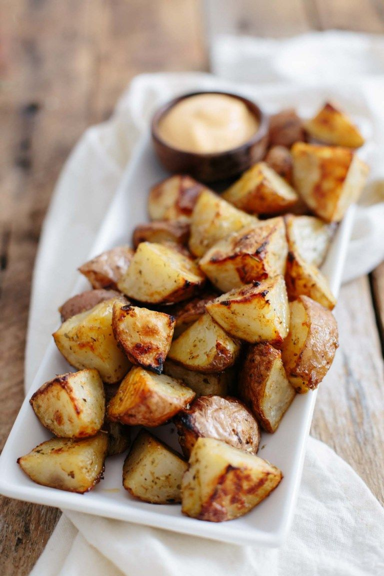 Easy roasted potatoes recipe roasted potatoes quick