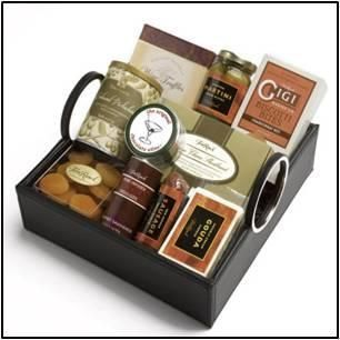 Corporate Gifts : Vintners Collection Gift Basket An exquisite design with an upscale image perfec
