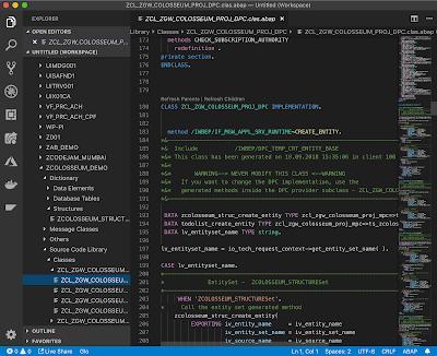 Abap Development In Vs Code Coding Development Data Services