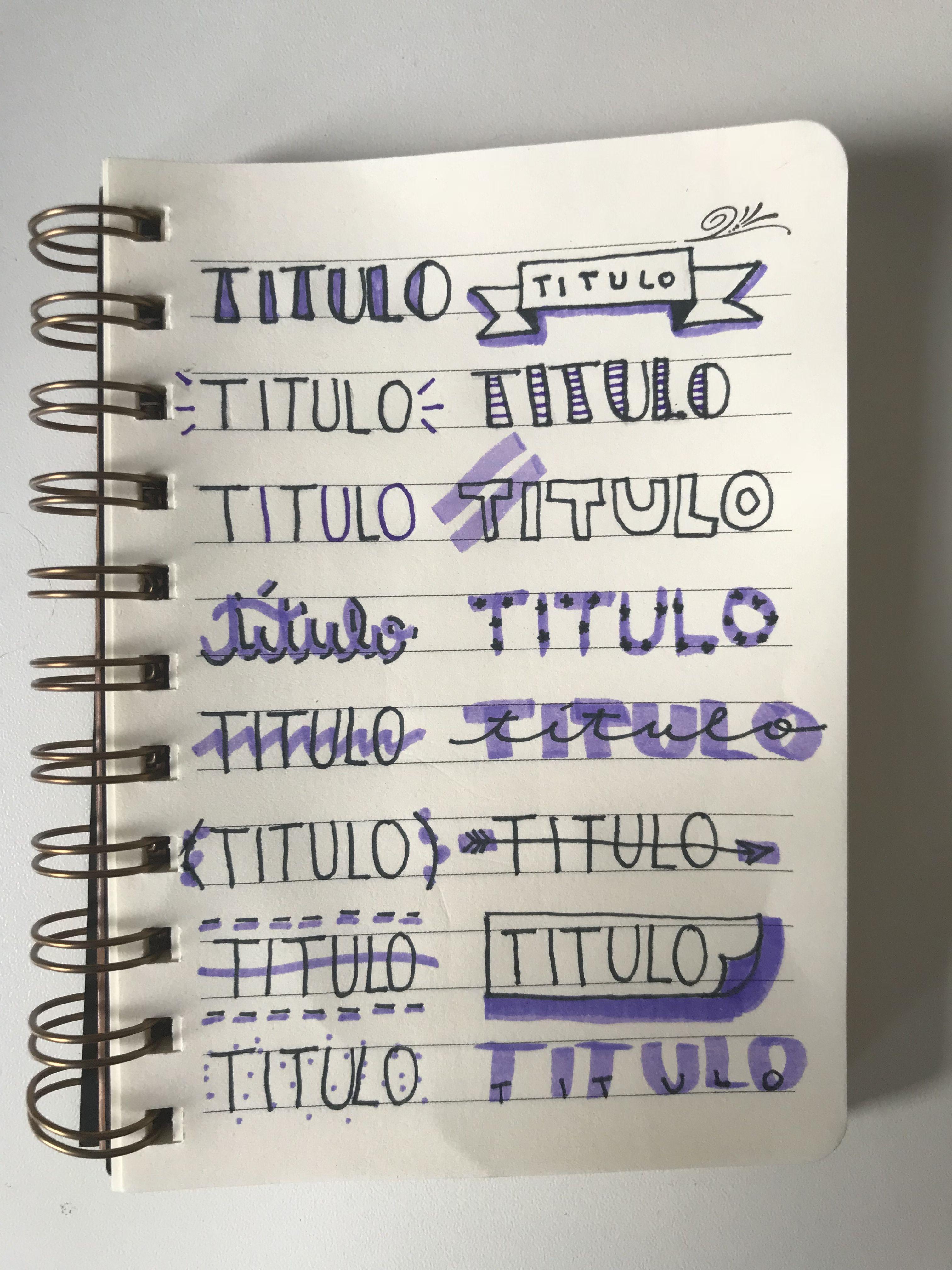 Ideias Para Título Tumblr Roxo Titulos Pinterest Letras
