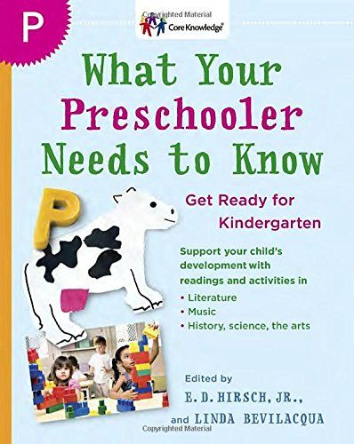 What Your Preschooler Needs to Know: Get Ready for Kinder...