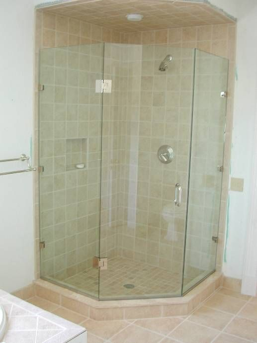 Frame Less Shower Door Shower Doors Pinterest Shower Doors