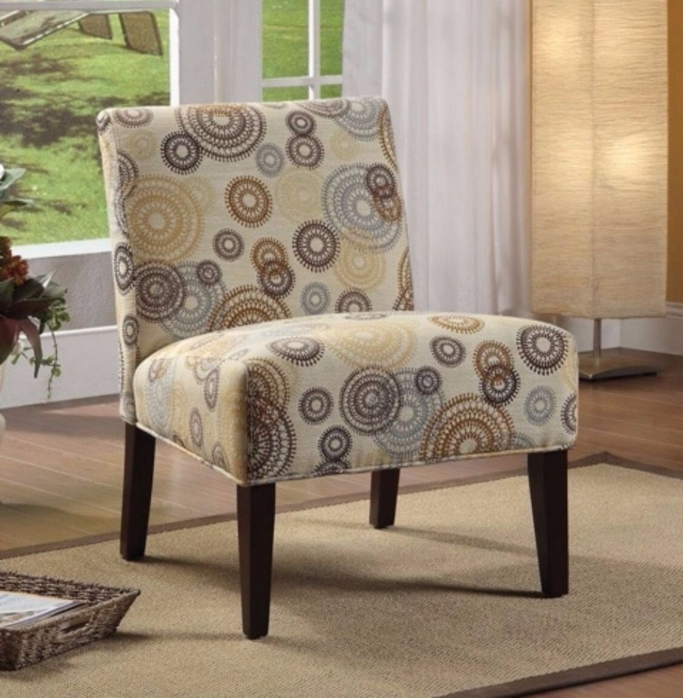 Aberly Contemporary Sy Wood Armless Accent Chair Living Room Furniture