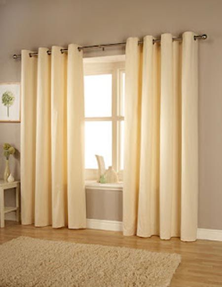Cortinas elegantes cortinas modernas con barras de acero for Cortinas elegantes para sala