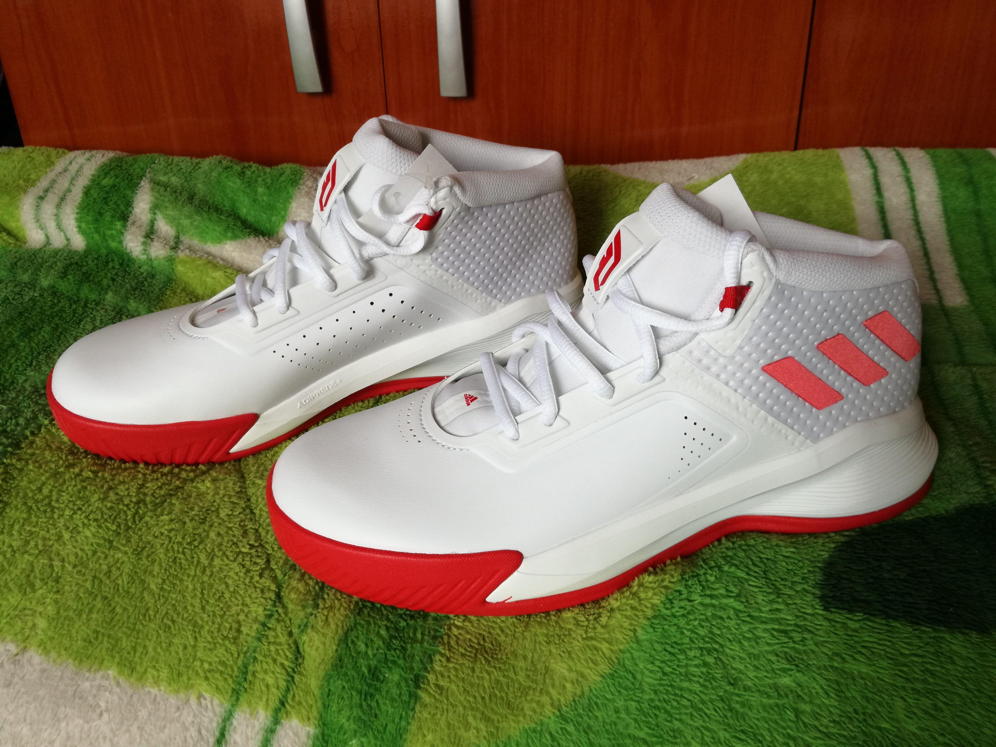Zapatillas De Baloncesto Pare Hombre Blanco Adidas