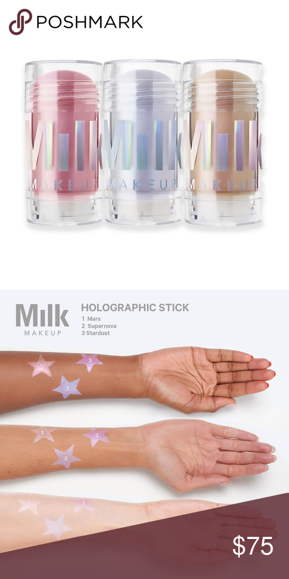 Milk Holographic Stick Highlighter Bundle NWT Milk