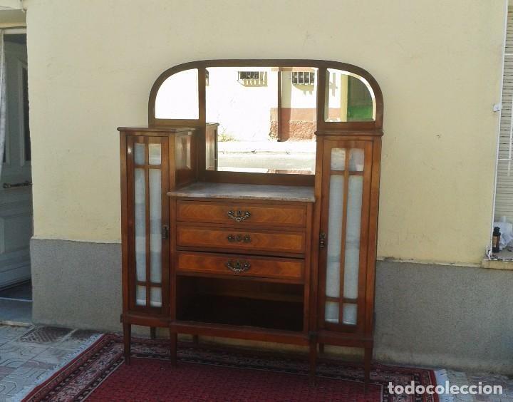 Antig edades aparador antiguo modernista 1920 aparador alacena antigua art deco noveau mueble - Aparador art deco ...