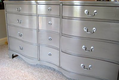 Lucky Me Studios Smokin Grey Dresser For Moi Grey Dresser Painted Bedroom Furniture Painted Furniture