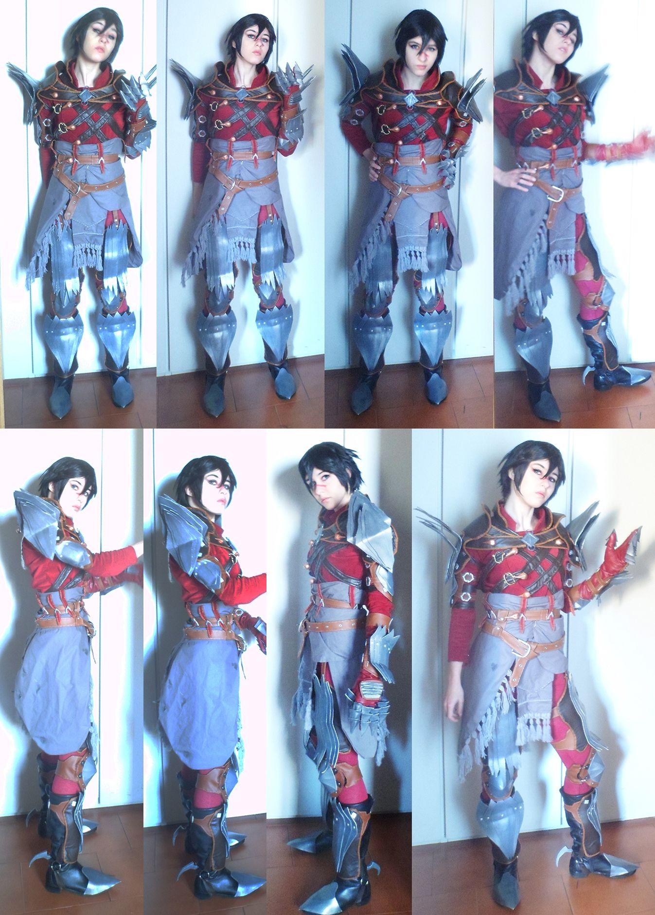 Rogue Marian Hawke Mantle of Champion Dragon Age II cosplay test   #dragonage #da #da2 #daii #cosplay #costume #outfit #champion #kirkwall #marian #hawke #costest #instant #garrett #femhawke #fem www.facebook.com/DarkWingsTira