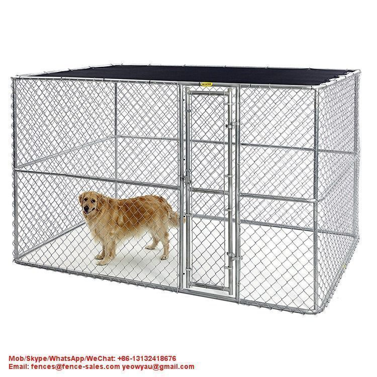 Pet Cage Wholesaler 10ft 6ft 10ft Outdoor Dog Kennel House From China Factory 10ft6ft10ft Pet Cage Whole In 2020 Luxury Dog Kennels Dog Kennel Dog Kennel Cover