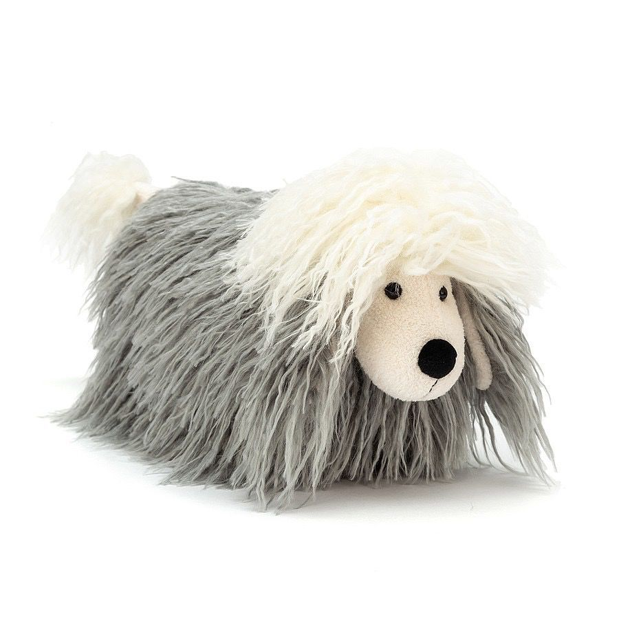 Jellycat Jelly Cat Charming Chaucer Dog Soft Toy Dog Cat Charm Animal Babies Toys
