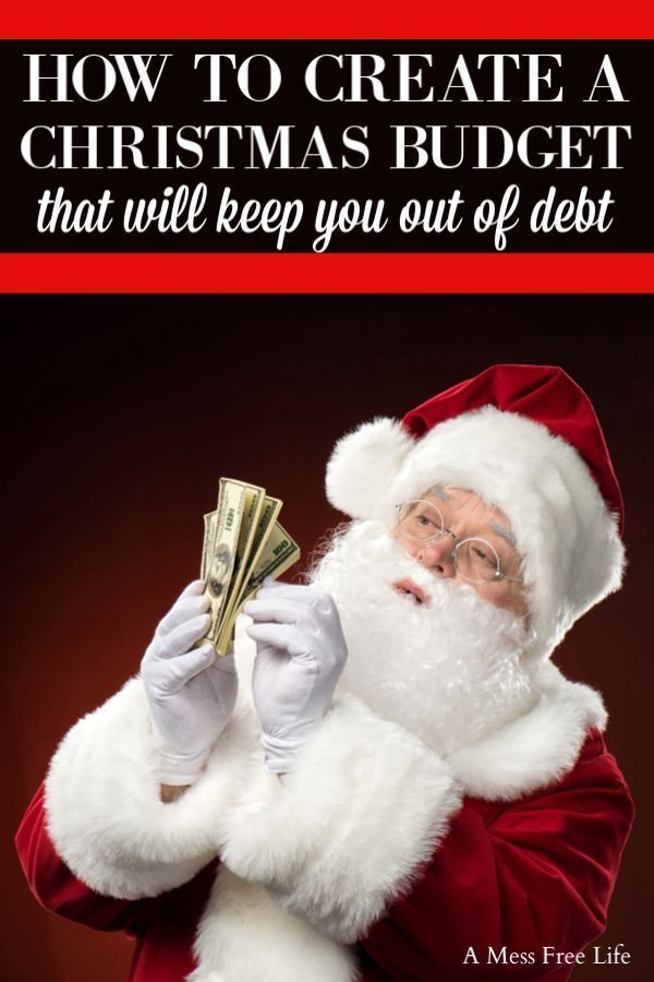 How To Create A Christmas Budget #partybudgeting