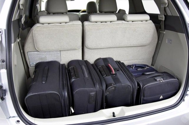2015 Toyota Sequoia Trunk With 3rd Row Future Mom Mobile