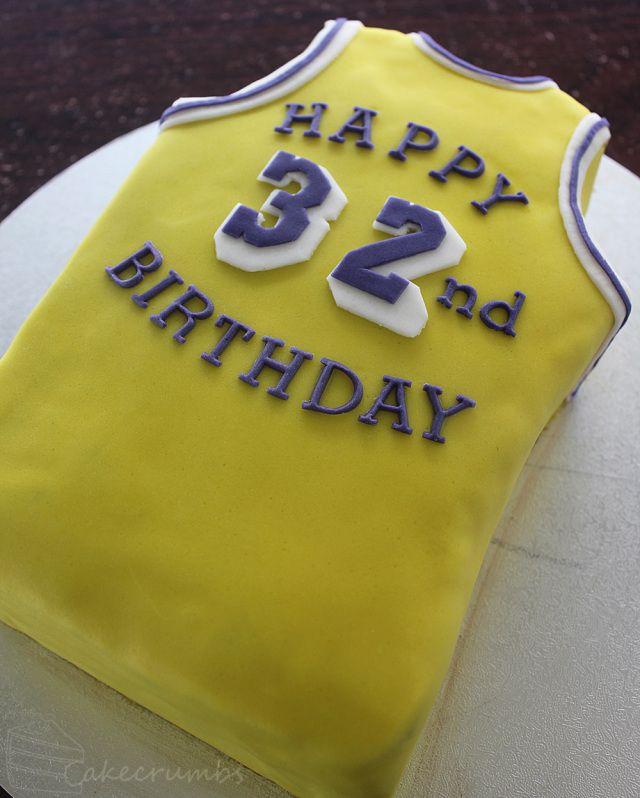 Magic Johnson 32nd Birthday Cake 32 Birthday Birthday Cake