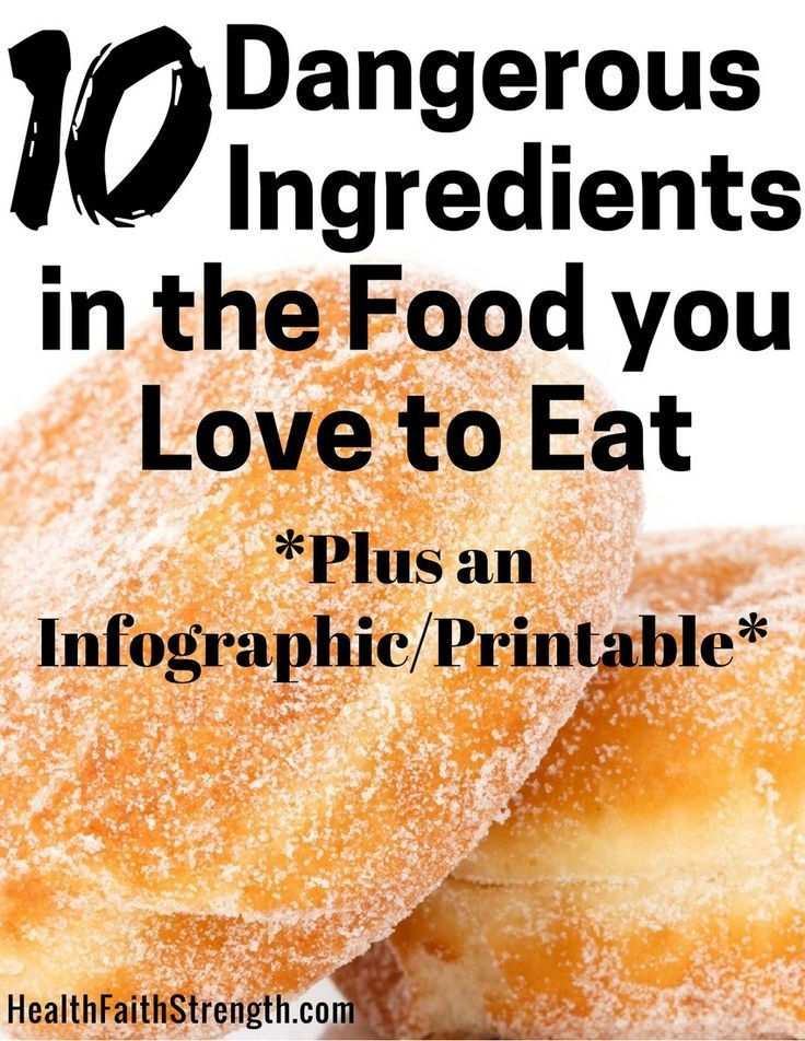 10 Dangerous Ingredients in the Food you Love to Eat