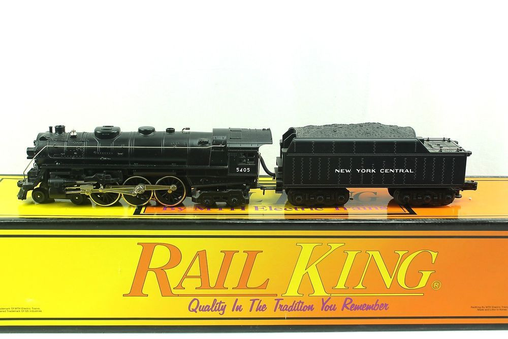 O MTH Rail King 4-6-4 Hudson Steamer NYC New York Central  Locomotive 30-1025