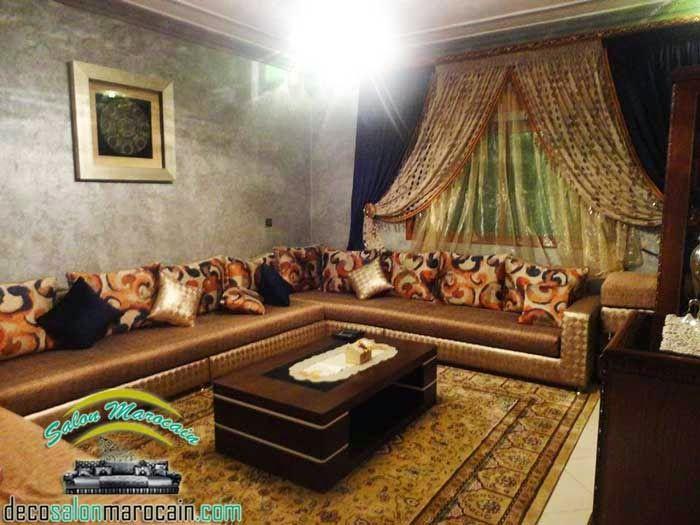 Salon marocain haute gamme royal | interor design | Salon ...