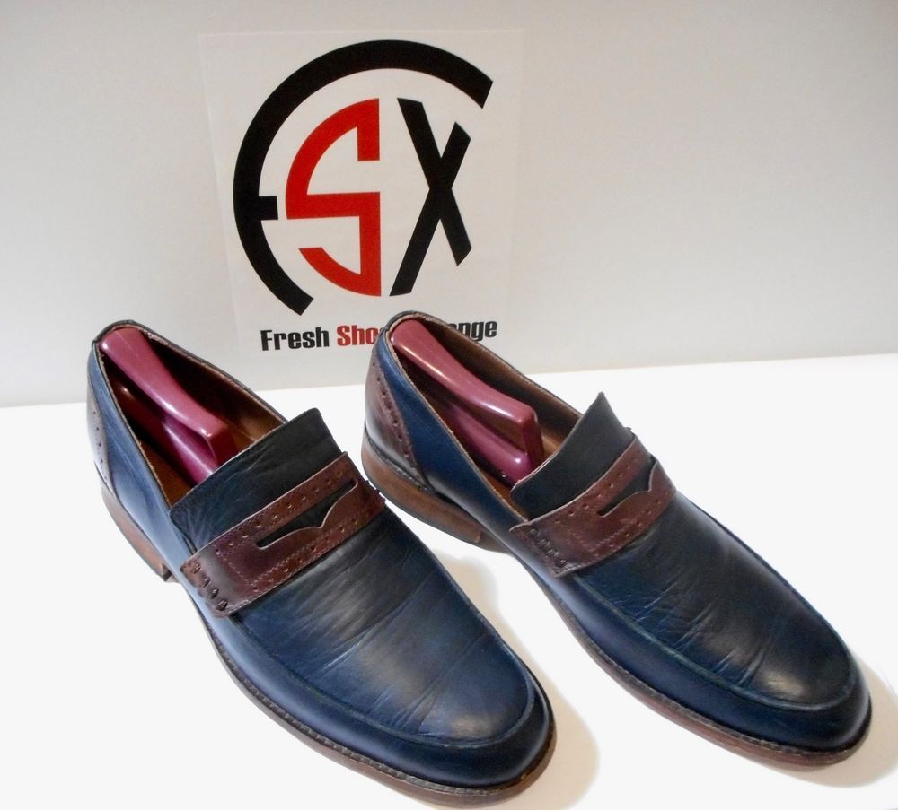 b8e8498bbbd7 George Esquivel x Tommy Hilfiger - Penny Loafer - LIMITED EDITION (Blue Red)