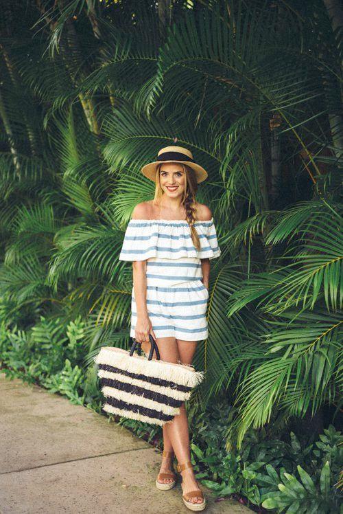 20 Outfit-Ideen für einen gestreiften Look für den Sommer