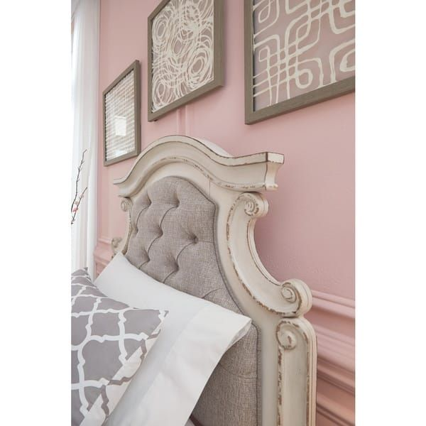 The Gray Barn Nettle Bank Upholstered Panel Bed In 2020