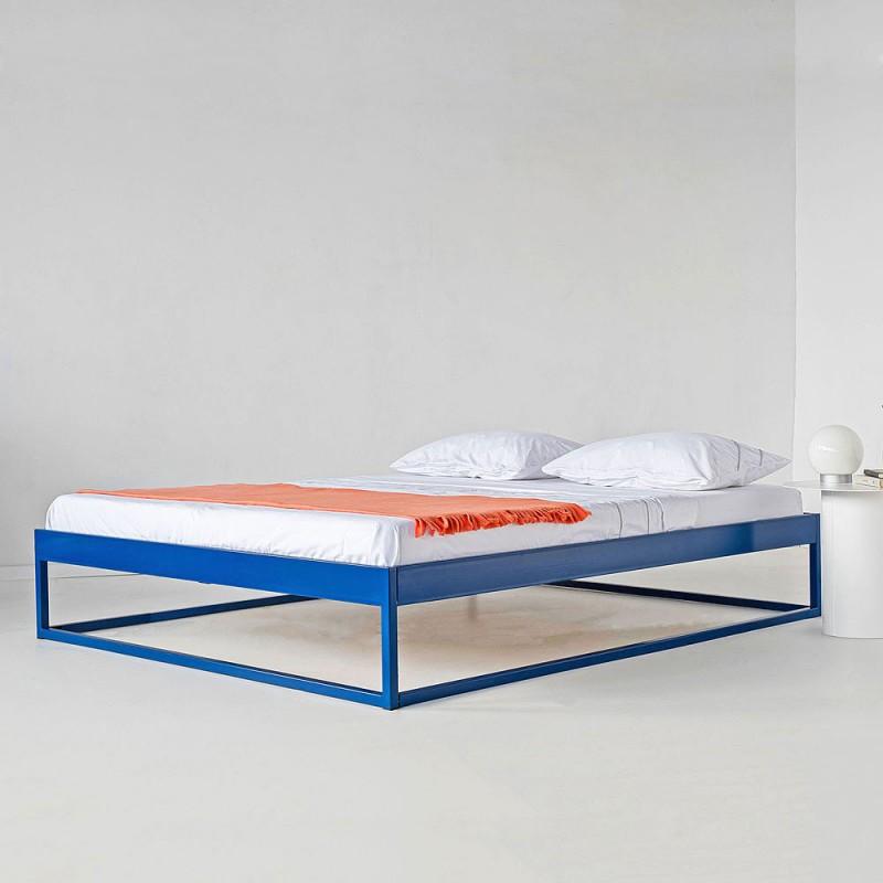 Simplex Das Moderne Bett Ohne Kopfteil 180x200 Metallbett 140x200 Kopfteil Bett Metallbett 180x200
