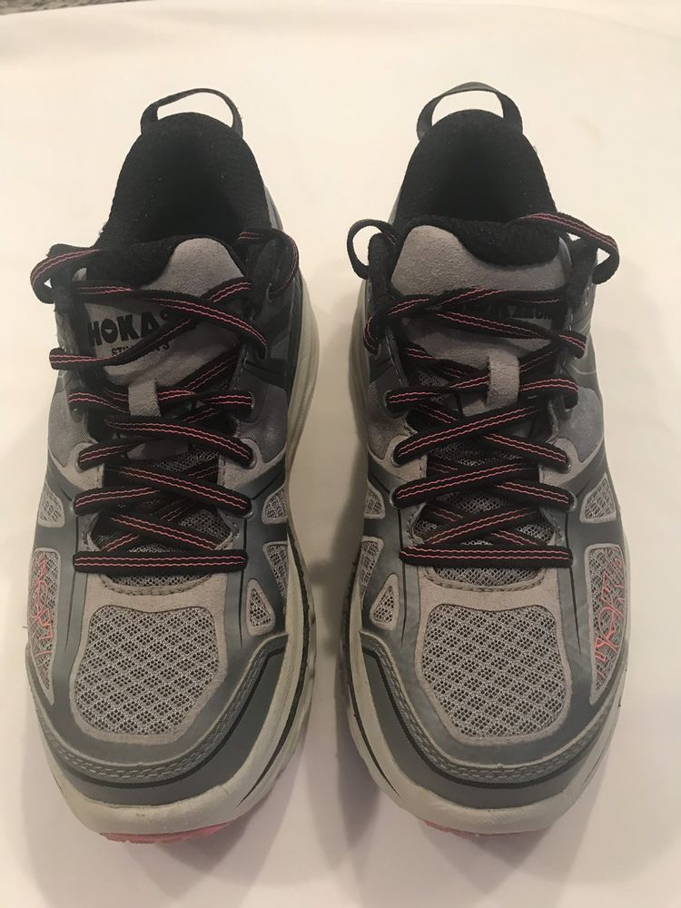 12c20a09140 Hoka One One WOMEN S Stinson 3 ATR Gray Pink Running Shoes Sz 8.5  fashion   clothing  shoes  accessories  womensshoes  athleticshoes (ebay link)