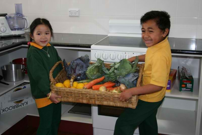 TEACHING KIDS HEALTHY HABITS  Last year I visited a school in Chevallum, QLD Australia, who are taking some really healthy steps towards school lunches. This inspiring school has an organic garden as part of their school grounds and uses the produce from the garden to create delicious healthy lunches for the students and teachers.  http://foodmatters.tv/articles-1/teaching-kids-healthy-habits