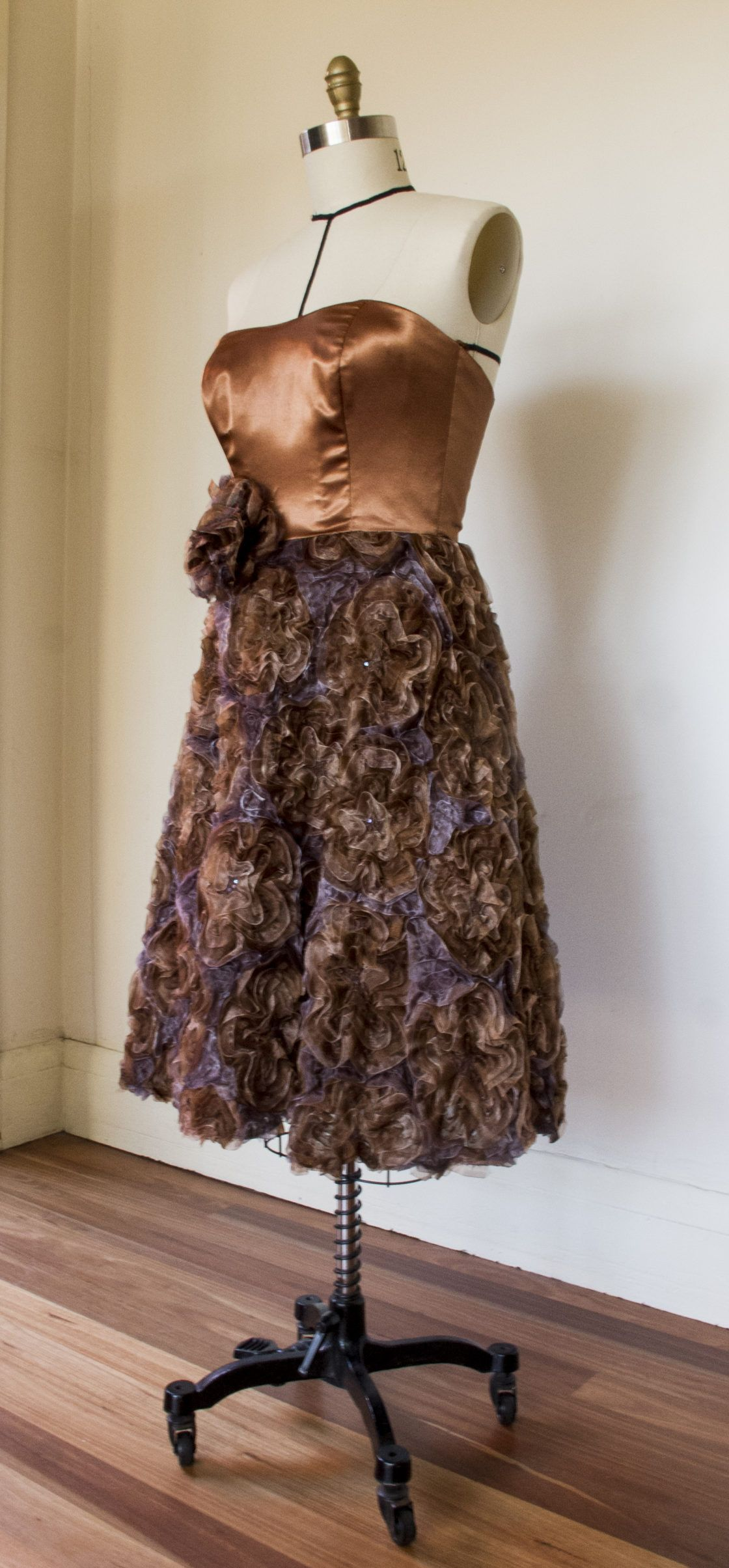 Claudio\'s Couture: Chocolate Brown Cocktail Dress | Store + Gift ...