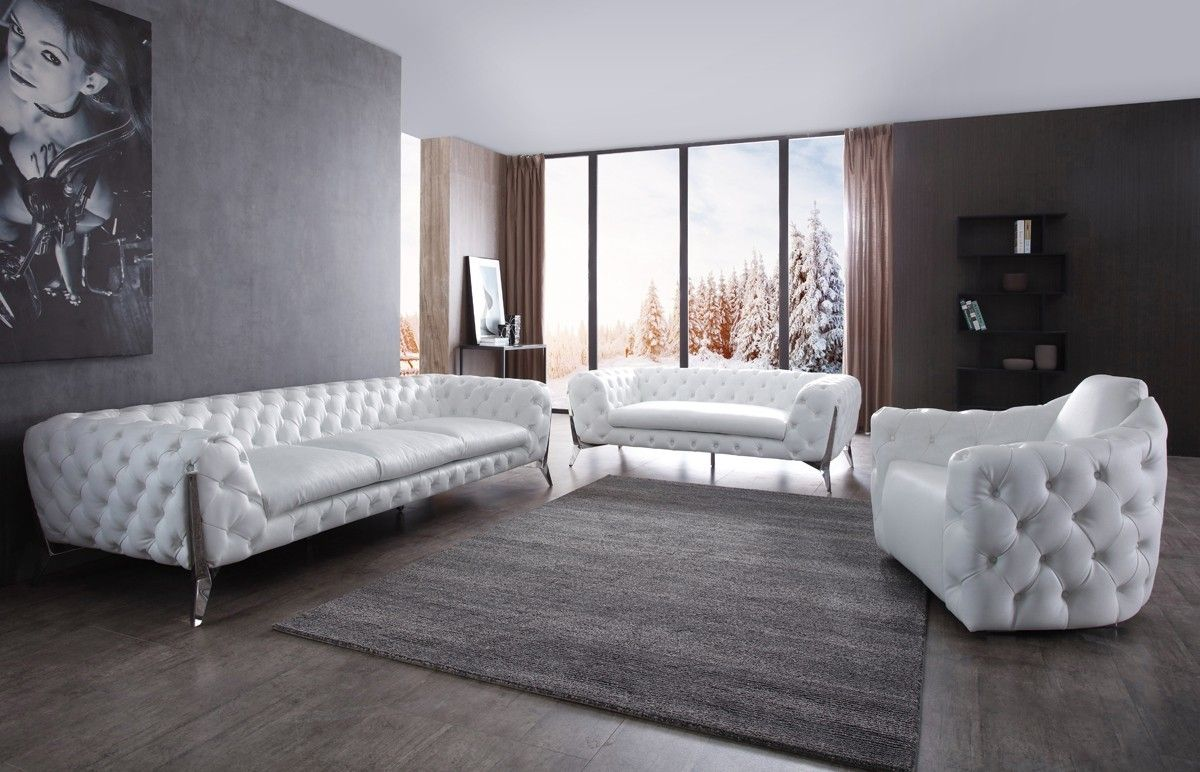 Stylish Furniture Stylish Design Furniture Divani Casa Catania Transitional White