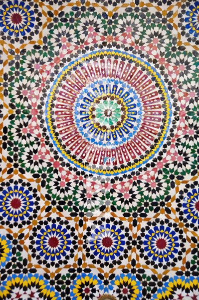 Moroccan Tile Return To All Zellige And You Can Select Any Color Vision Board Pinterest Custom Kitchenoorish