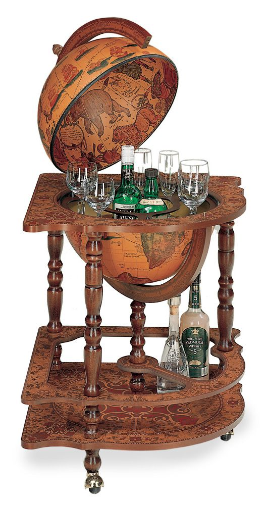 Corner Cabinet Floor Globe Bar On Casters Globe Bar Floor Globe Corner Bar