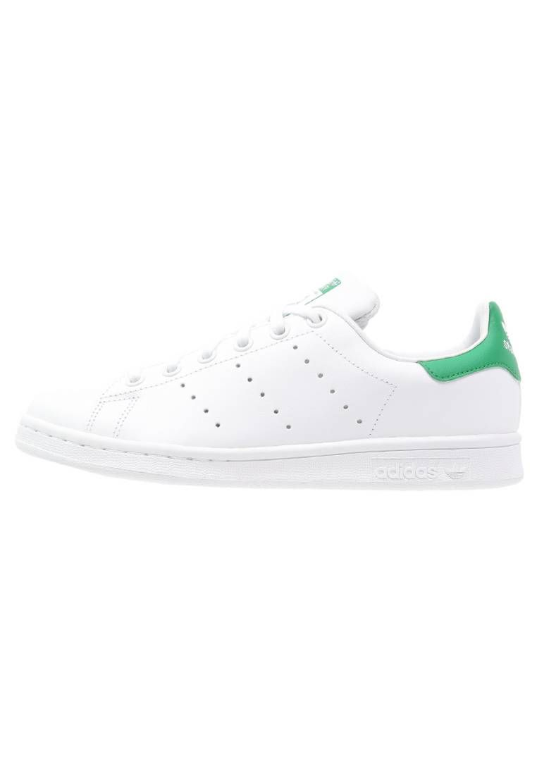 watch c605b f5a44 adidas Originals. STAN SMITH - Baskets basses - white green. Semelle de  propreté