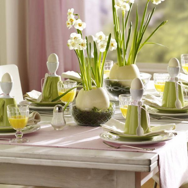 40 easter table dcor ideas to make this family holiday special digsdigs - Table Decoration