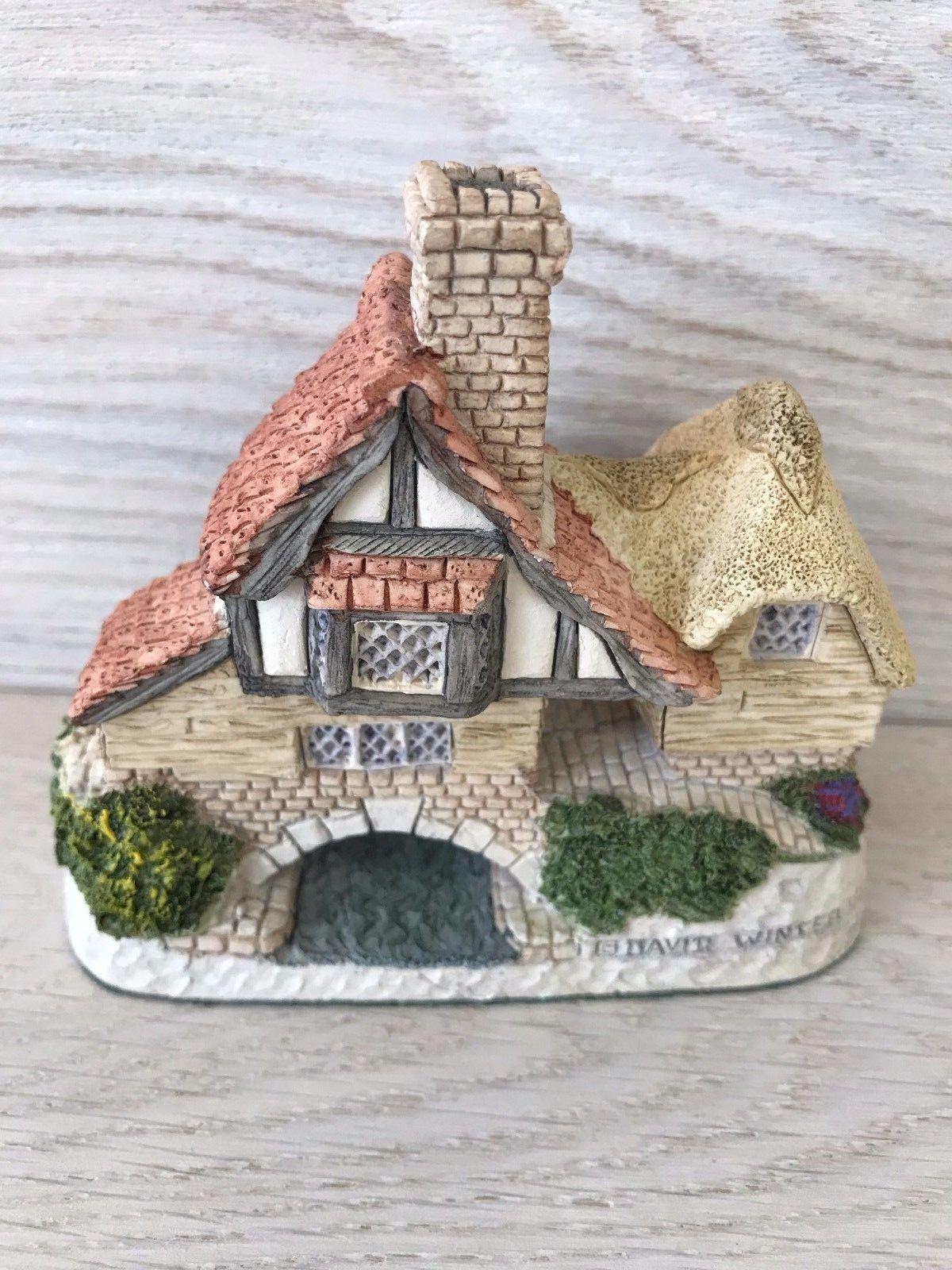 Vintage David Winter Birth Day Cottage Arches Thwonce Date March 31 Ebay Birthday Day Cottage