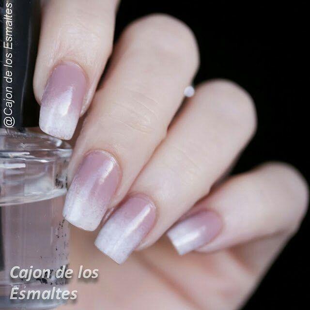 Asombroso Blanco A Rosa Uñas Ombre Festooning - Ideas de Diseño de ...