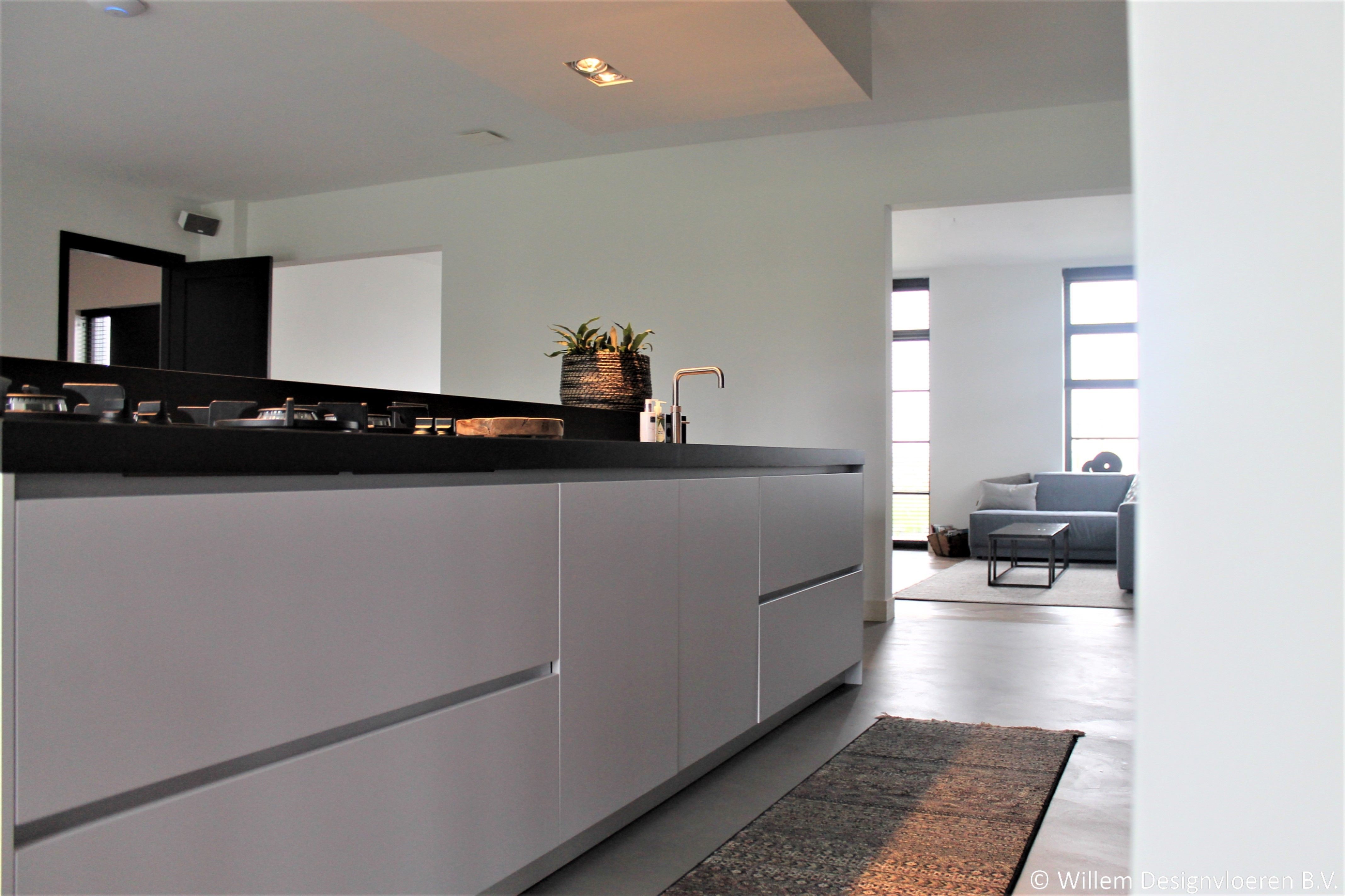 Betoon Look Vloer : Betonlook vloer u willem designvloeren b v portfolio beton