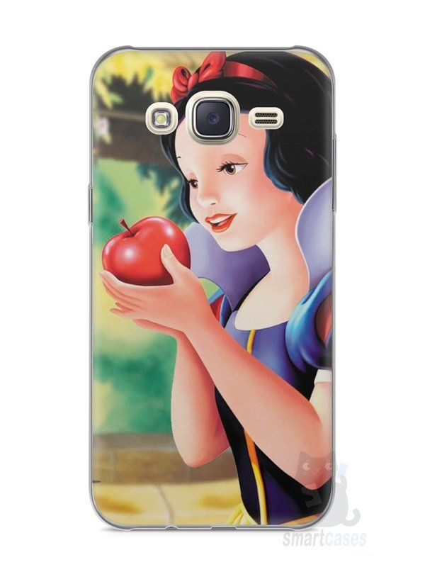 Capa Capinha Samsung J7 Branca de Neve - SmartCases - Acessórios para celulares e tablets :)