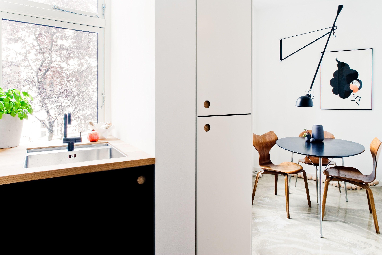 Østerbro Apartment | Küchen fronten, Ikea küche und Küche
