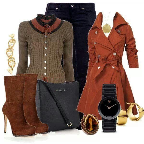 Suéter botas abrigo