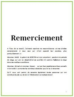 Exemple D Introduction Rapport De Stage Exemple D Introduction De