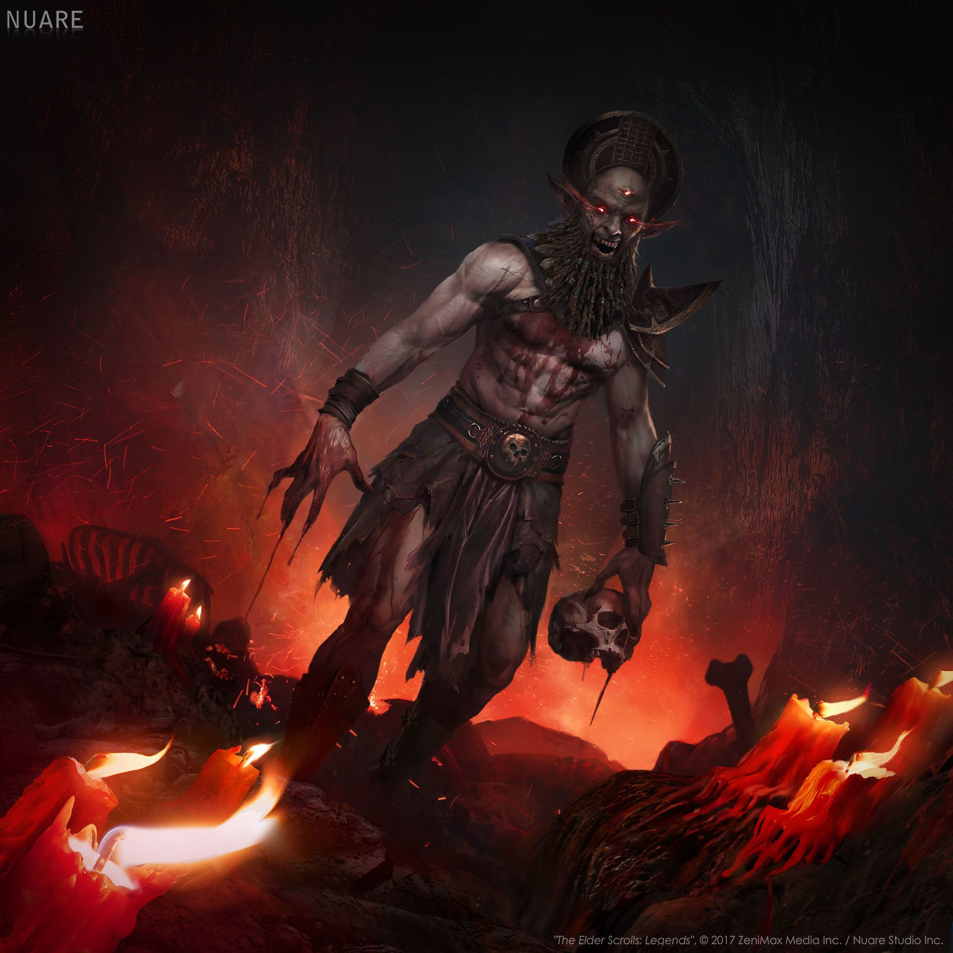 ArtStation - Hand Of Dagoth , Alexander Kretov