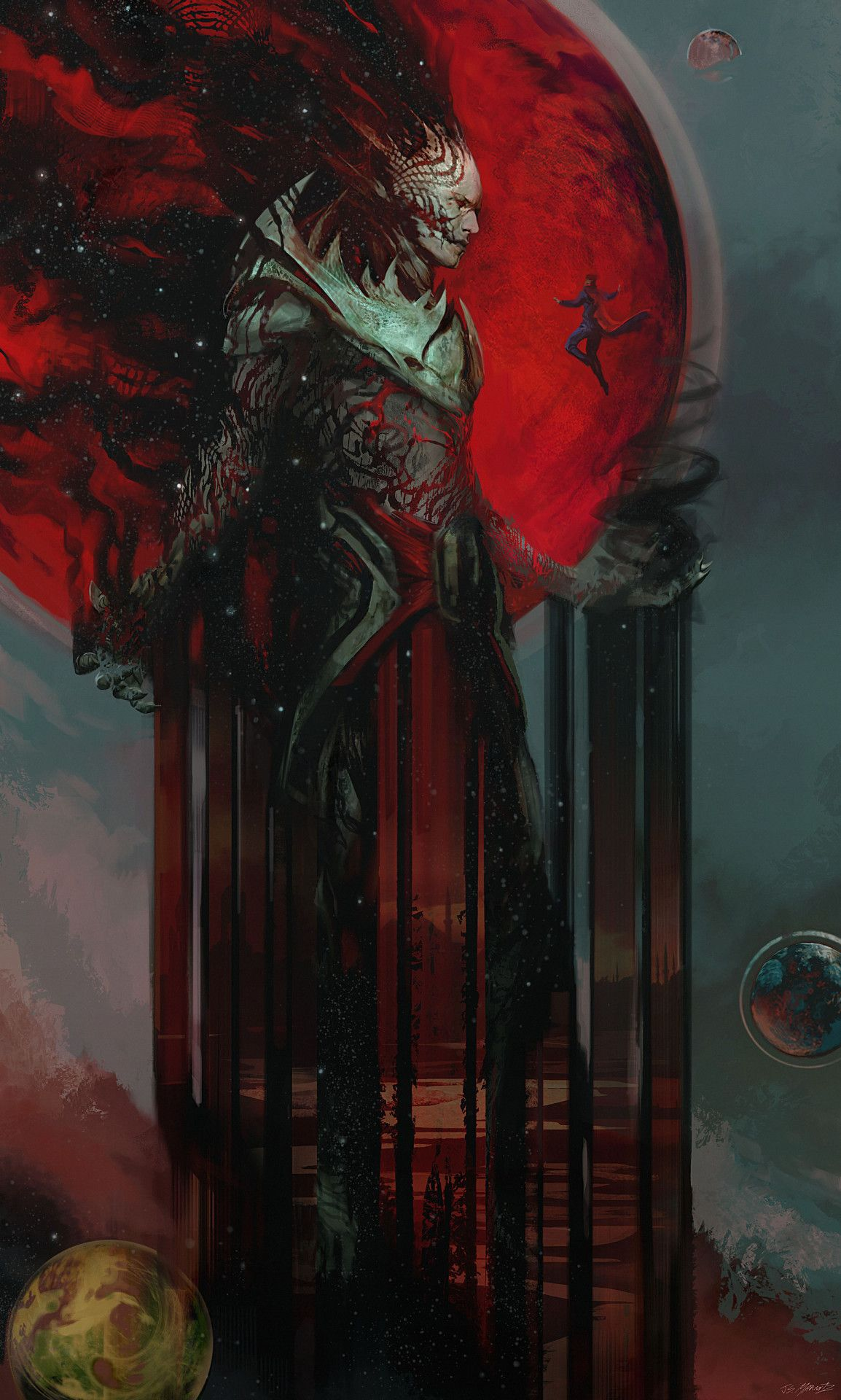 """thecollectibles: """" Dormammu Concept Art for Dr. Strange by ..."""