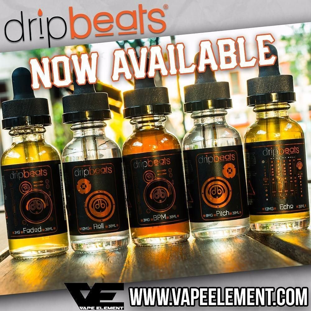 Doesn't it look too good to be true? Well it's definitely good and it's definitely true. @dripbeats has some crazy good flavors for you to choose from. Get yours today at @vapeelement!  Stock up on your favorite e-liquids now by visitingwww.vapeelement.com!  #vapeelement #dripbeats #everydriphasabeat by vapeporn